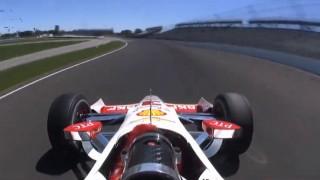 Crash spectaculaire de Helio Castroneves
