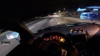 En Nissan 350z, il slalome comme un dingue